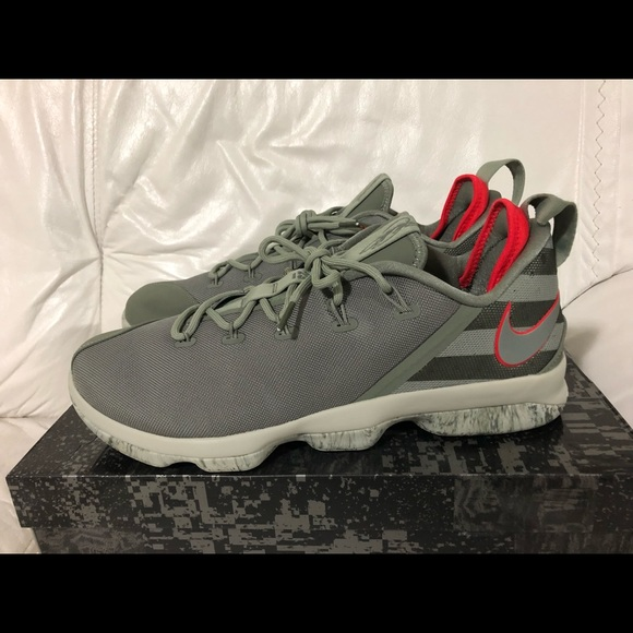 98a3456cbc5 Nike Lebron James XIV 14 Low Dark Stucco New